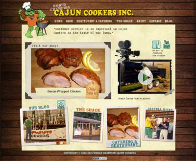 Cajun Cookers Inc. is live
