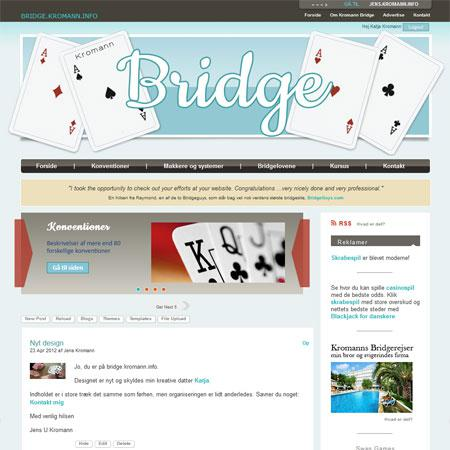 Kromann Bridge has a new fresh look!