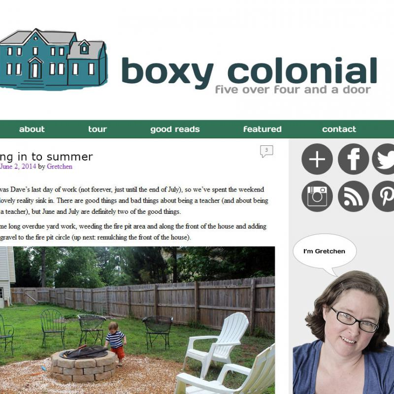 New look for Boxy Colonial