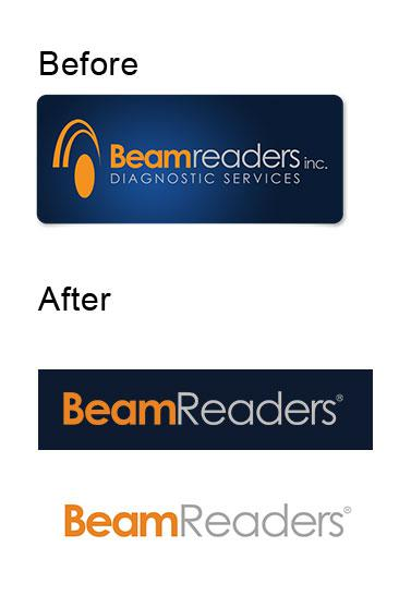 Logo modification for BeamReaders, inc.