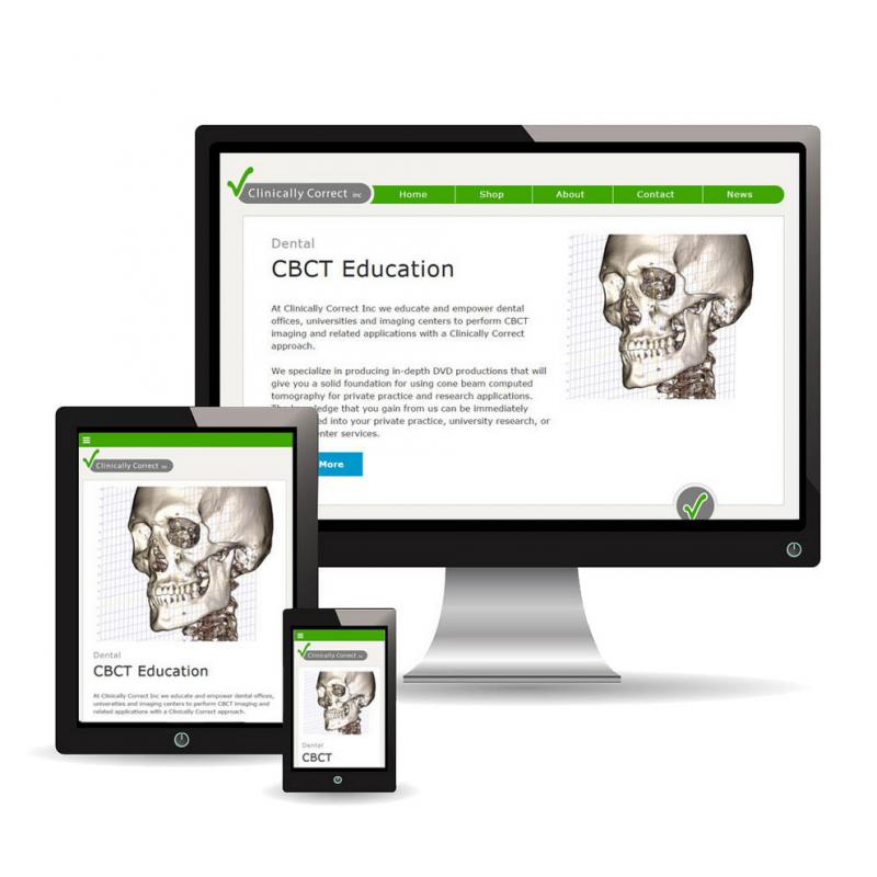 Clinically Correct's website is now responsive