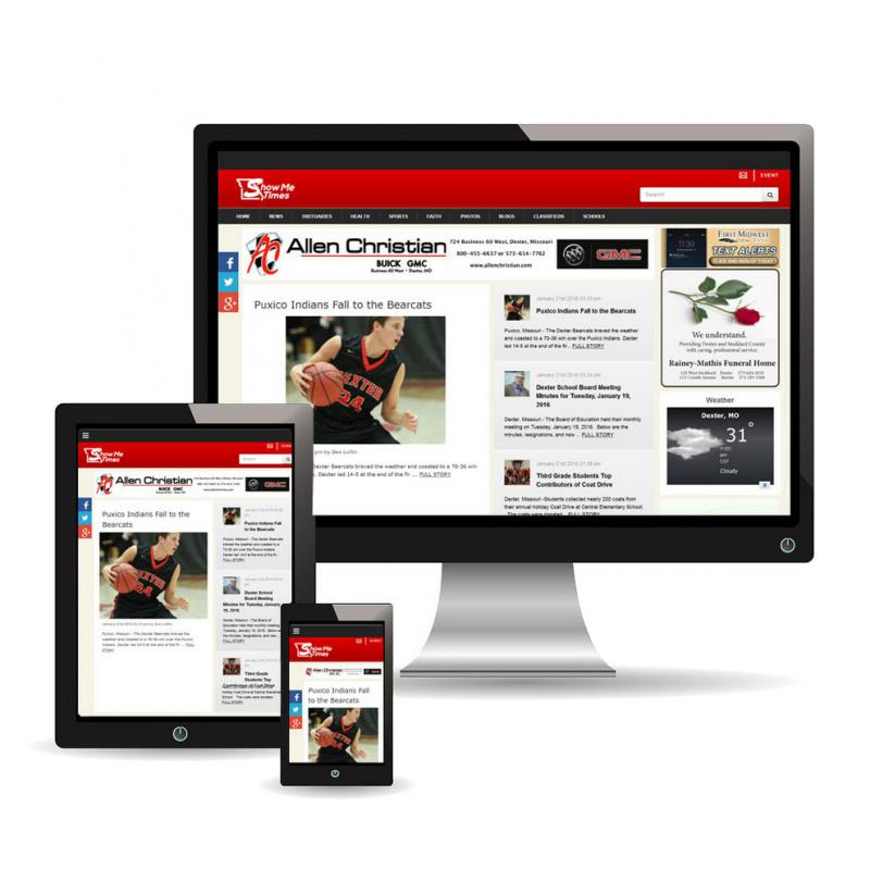 ShowMe Times has a new responsive website