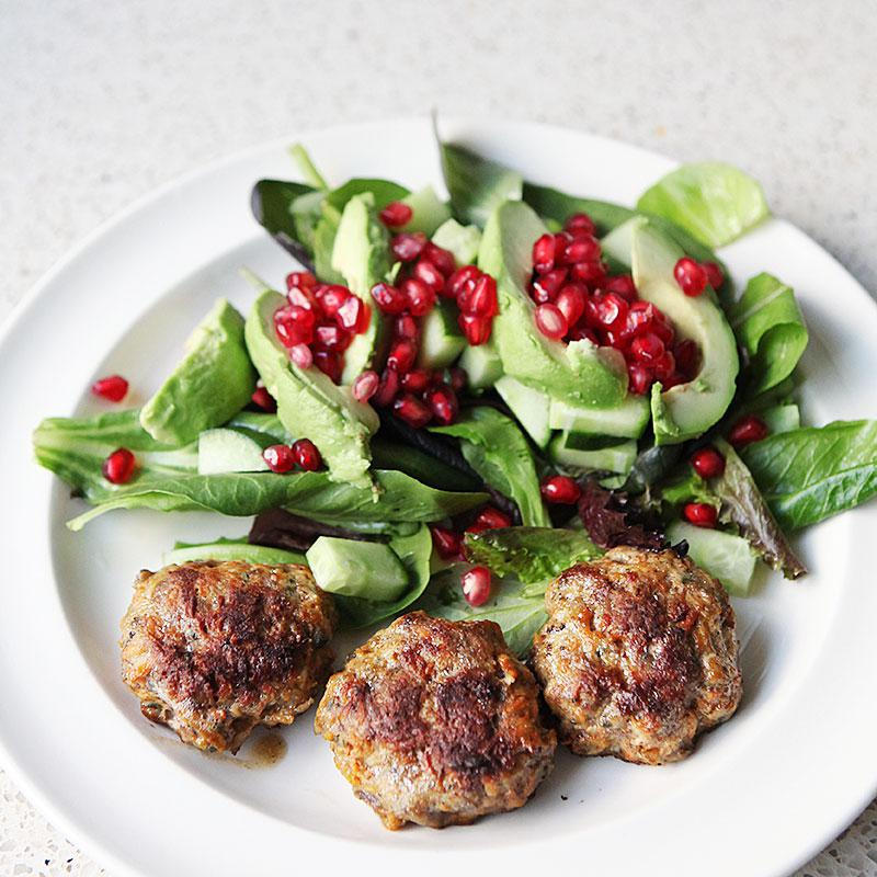 Meatballs with juniperberries