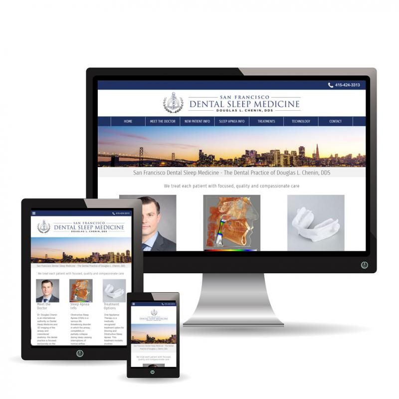 New website for San Francisco Dental Sleep Medicine